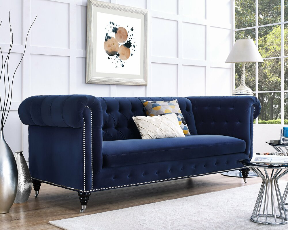 Chesterfield Sofa Blue Home Sofa