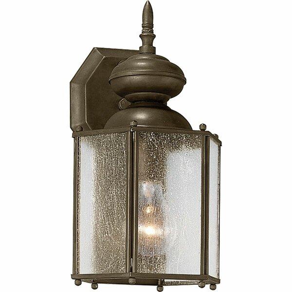 Triplehorn 1-Light Wall Lantern by Alcott Hill