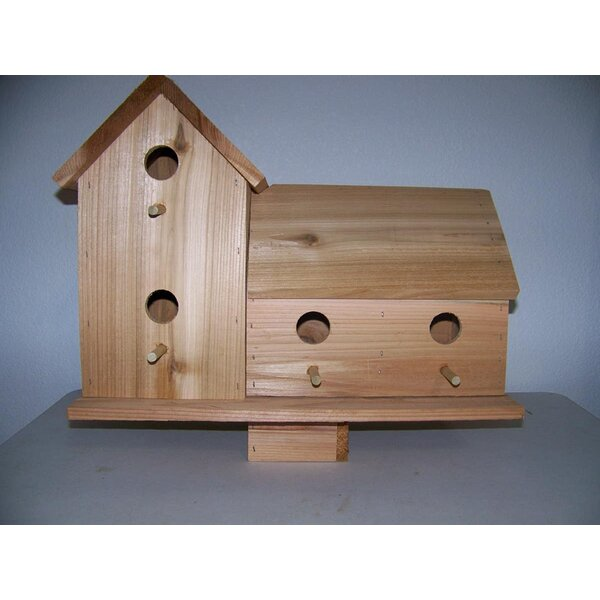 Cedar 16 in x 18 in x 10 in Birdhouse by Cedarnest