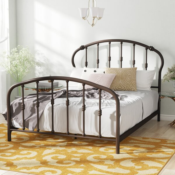 Tennison Queen Sleigh Bed by Charlton Home