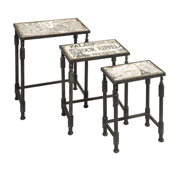 San Juan Capistrano 3 Piece Nesting Tables by Trent Austin Design