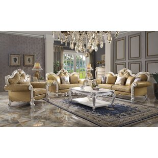 Jagger 3 Piece Faux Leather Living Room Set by Willa Arlo™ Interiors