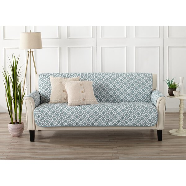 Looking for Box Cushion Sofa Slipcover By George Oliver 2019 Sale