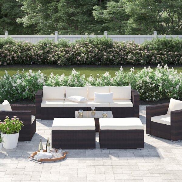 Bennett Sofa Seating Group with Cushions by Sol 72 Outdoor