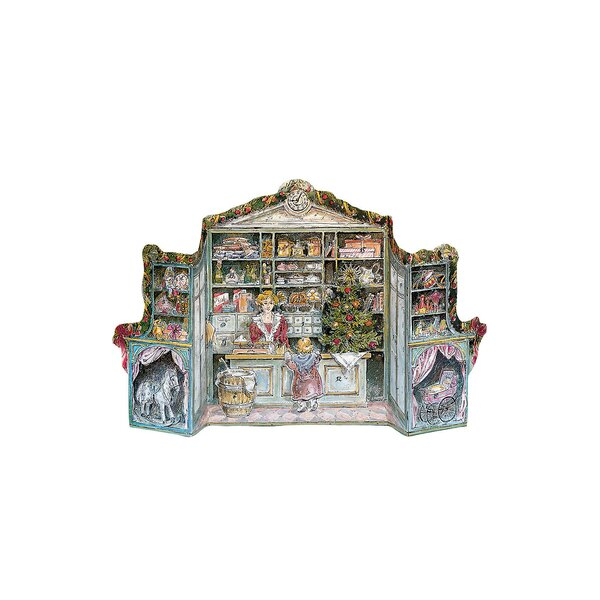 Korsch 3-Dimensional Victorian Store Advent Calend