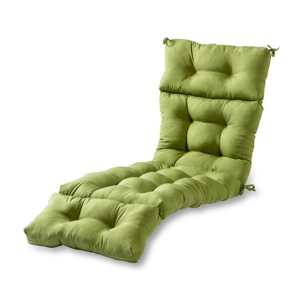 Sarver Indoor/Outdoor Chaise Lounge Cushion by Andover Mills