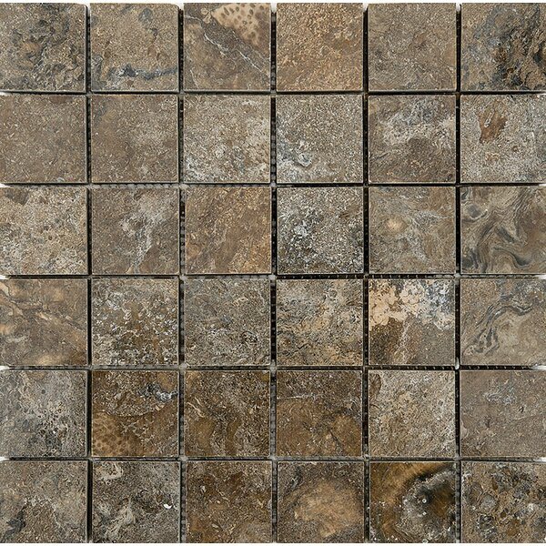 Bosphorus Marble 2 x 2 Stone Mosaic Tile Polished by Parvatile