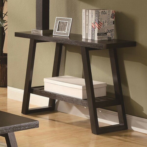 Review Renna Transitional Console Table