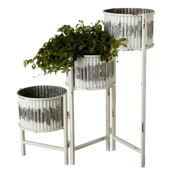 Elsworth 3 Tier Pot Planter by Gracie Oaks