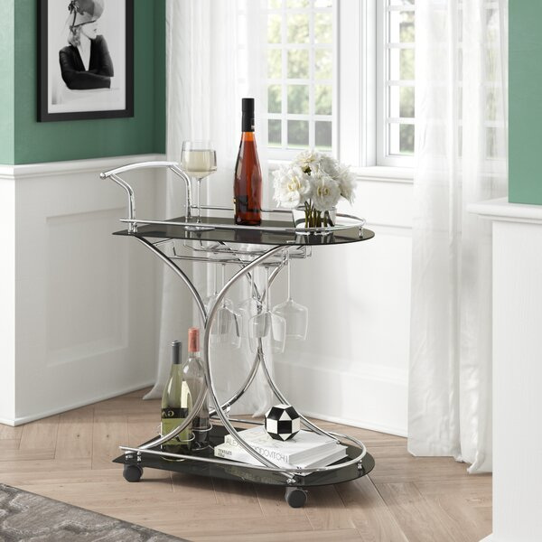 Ajax Bar Cart by Willa Arlo Interiors Willa Arlo Interiors