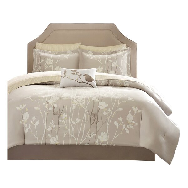 Herrmann Complete Comforter and Cotton Sheet Set by Three Posts