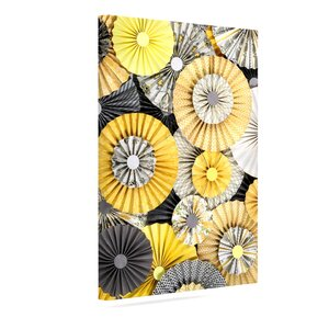'Daffodil' by Heidi Jennings Graphic Art on Wrapped Canvas by KESS InHouse
