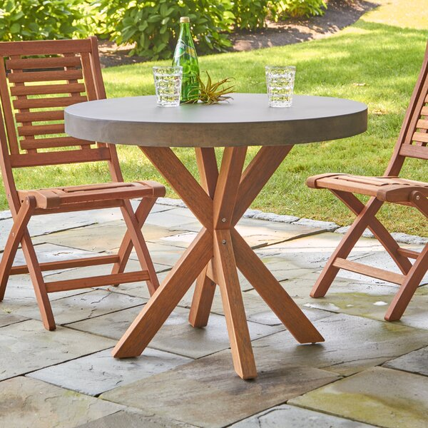 Mancini Round Bistro Table by Birch Lane™