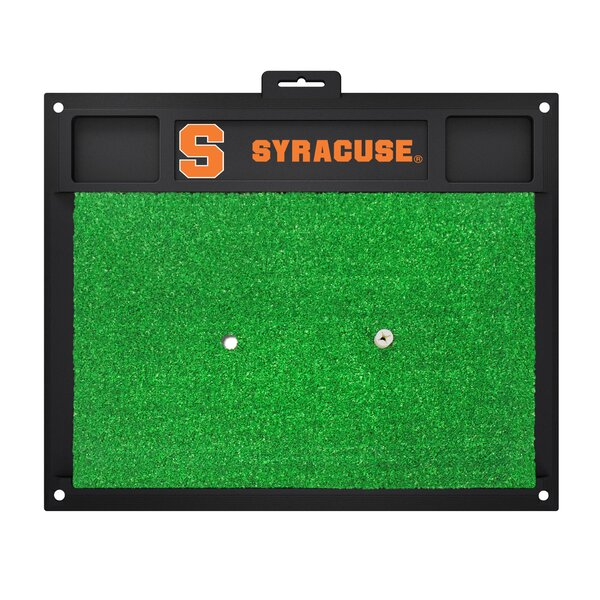 NCAA Syracuse University Golf Hitting Mat by FANMATS