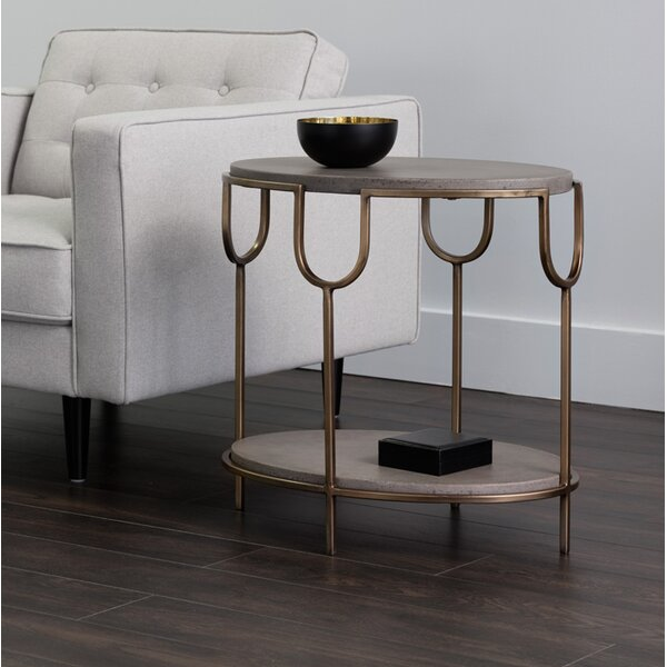 Grannis End Table by Everly Quinn