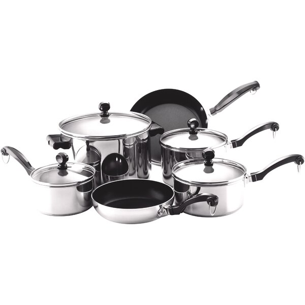 6-Piece Classic Cookware Set by Farberware
