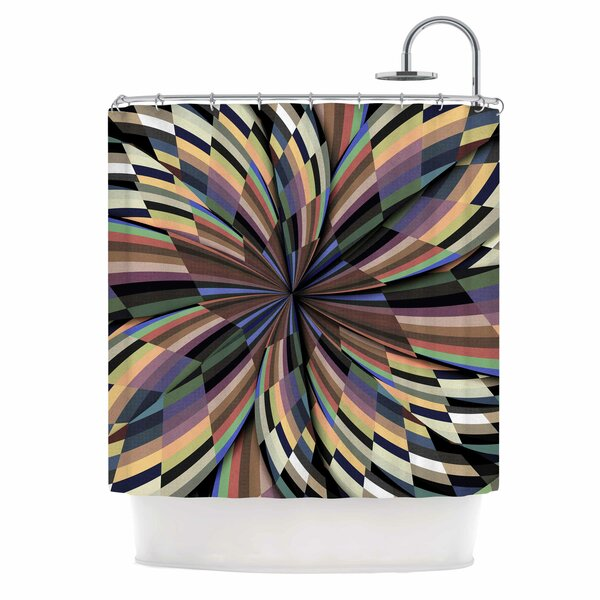 Love Affair by Danny Ivan Geometric Shower Curtain by East Urban Home