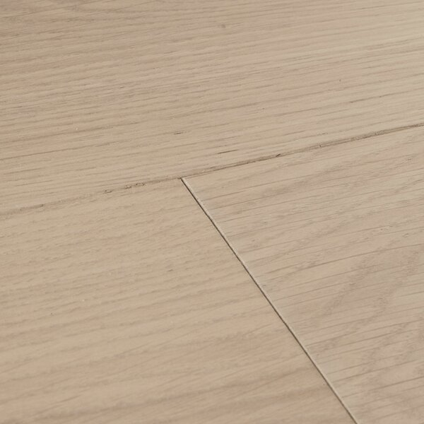 Chepstow Planed 7-1/2 Engineered Oak Hardwood Flooring in Gray by Woodpecker