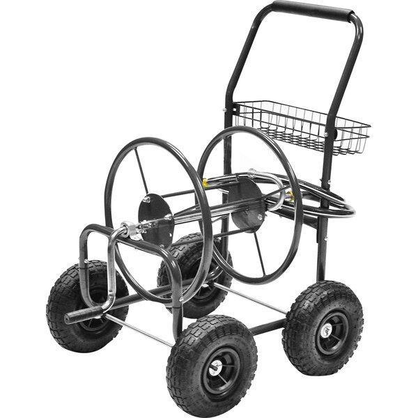 Steel Hose Reel Cart by Precision Products
