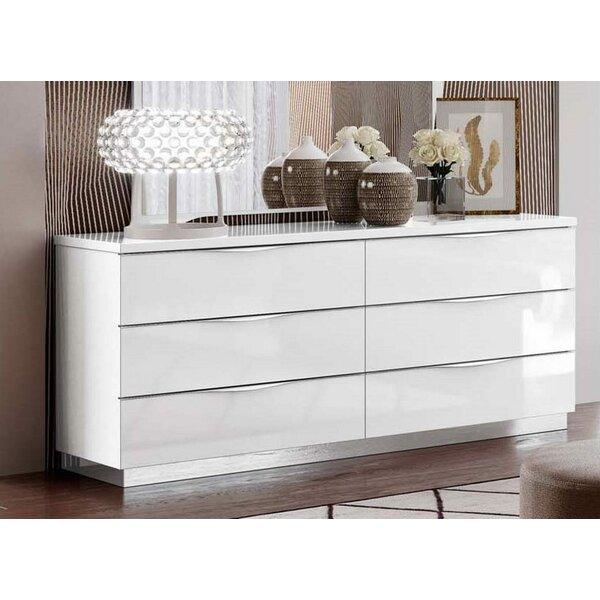 Oakhaven 6 Drawer Double Dresser by Orren Ellis