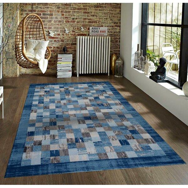 Bennet Blue Indoor/Outdoor Area Rug by Latitude Run