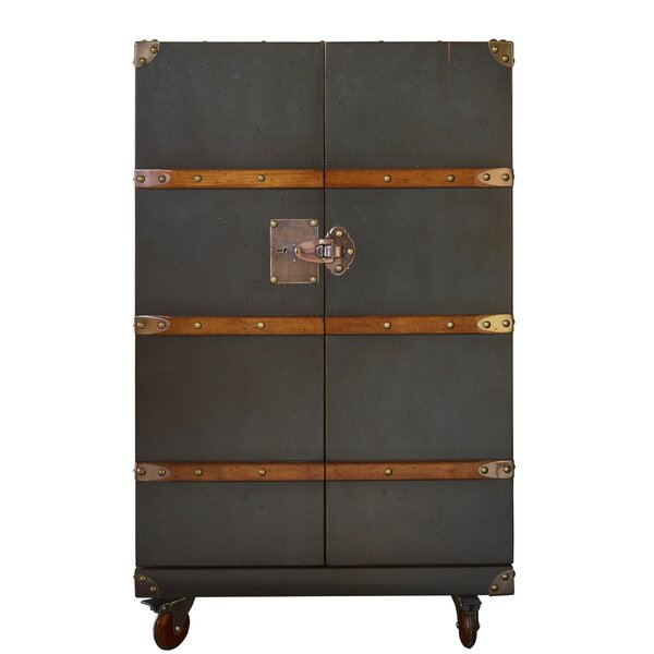 Barclay Club Bar Cabinet by Williston Forge Williston Forge