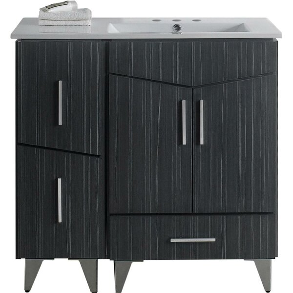 Kapp Floor Mount 36 Single Bathroom Vanity Set by Royal Purple Bath Kitchen