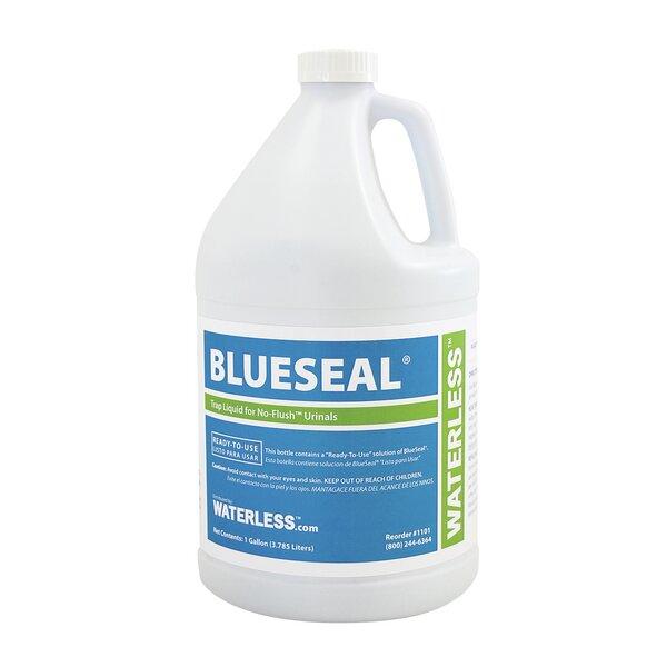 BlueSeal Gallon Urinal Trap Seal Liquid by Waterless