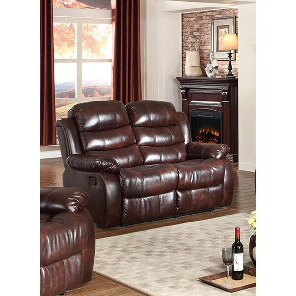 Swarey Reclining Loveseat by Winston Porter