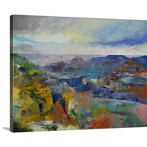 'Grand Canyon' by Michael Creese Painting Print on Wrapped Canvas by Great Big Canvas