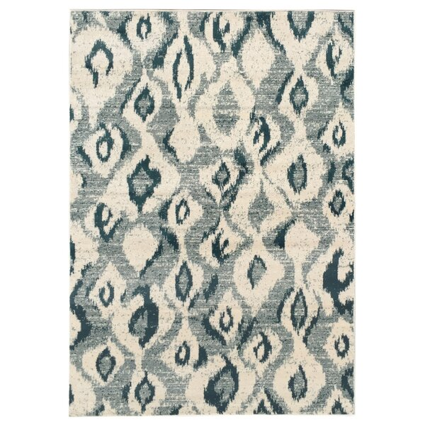 Milsap Cream/Beige Indoor/Outdoor Area Rug by Wrought Studio