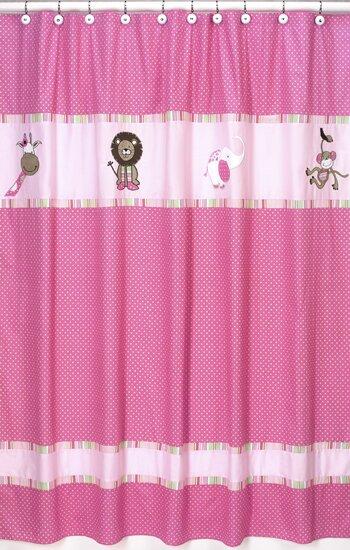 Jungle Friends Shower Curtain by Sweet Jojo Designs