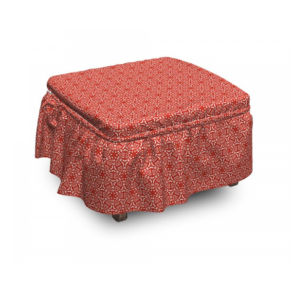 Warm Arrangement Ottoman Slipcover (Set Of 2) By East Urban Home