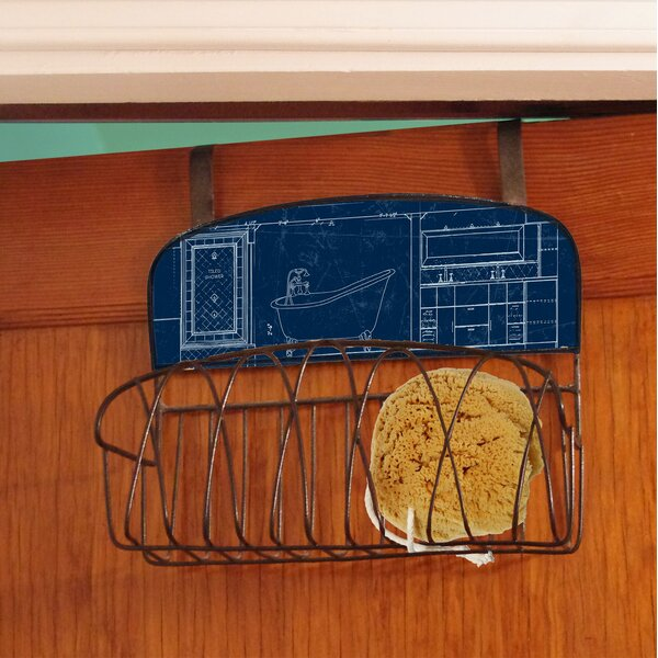 Bathroom Over the Door Organizer by Stupell Industries