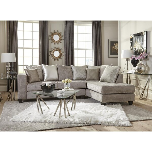 Cheap Price Crissyfield Right Hand Facing Sectional