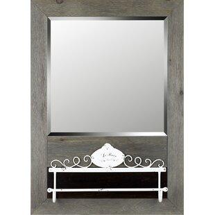 Compare prices Cian Wall Mirror Bathroom/Vanity Mirror ByGracie Oaks