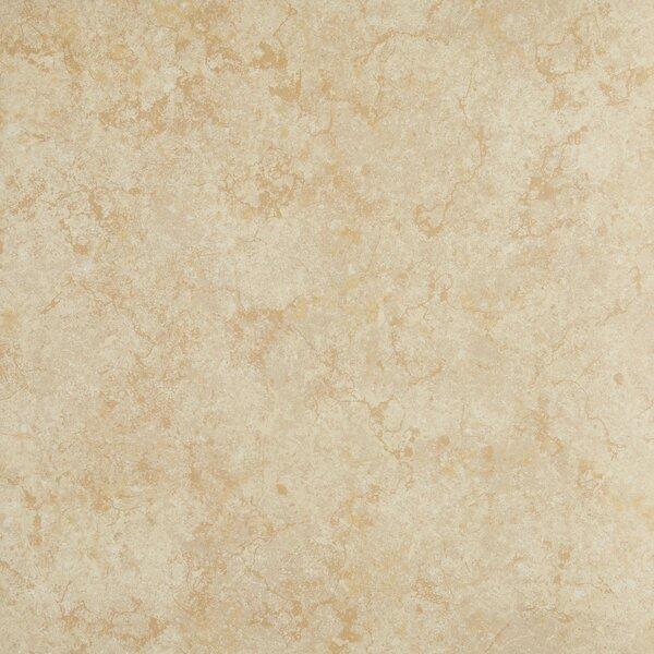 18 x 18 Ceramic Field Tile in Light Gold by Itona Tile