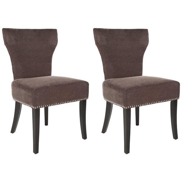 Maria Upholstered Dining Chair (Set of 2) by Safav