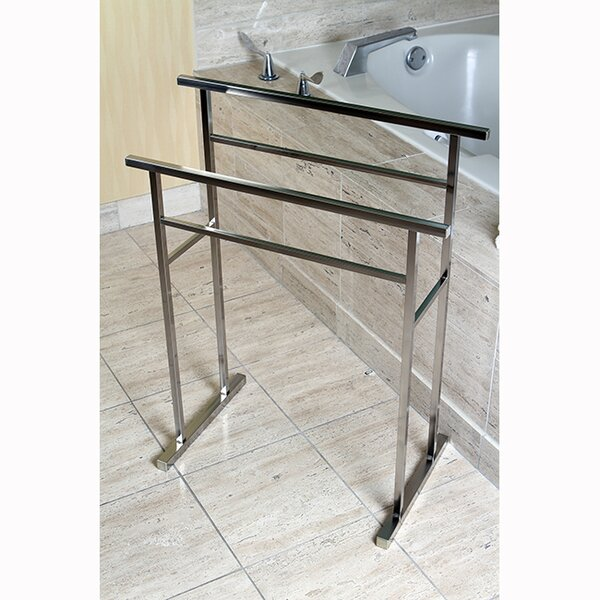 Edenscape Free Standing Towel Stand by Kingston Br