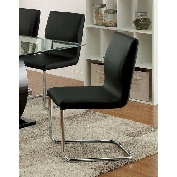 Futon Upholstered Dining Chair (Set of 2) by Orren Ellis