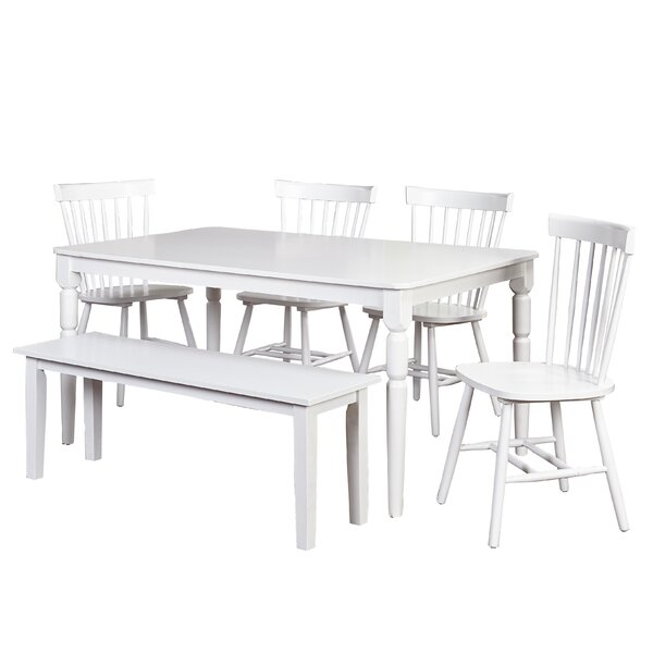 Tignall 6 Piece Counter Height Dining Set by Gracie Oaks Gracie Oaks
