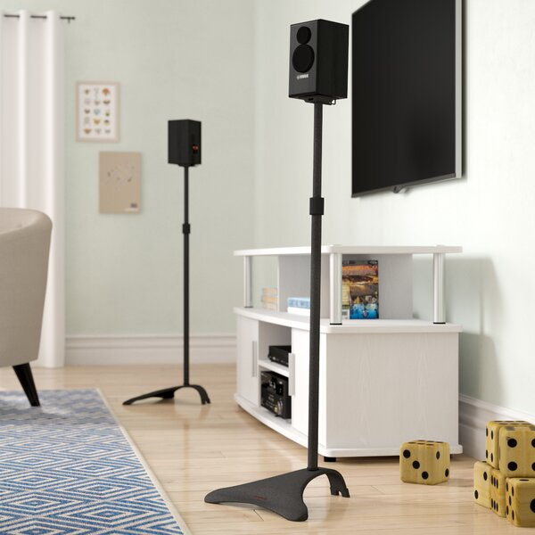 Adjustable Height Speaker Stand (Set of 2) by Symple Stuff