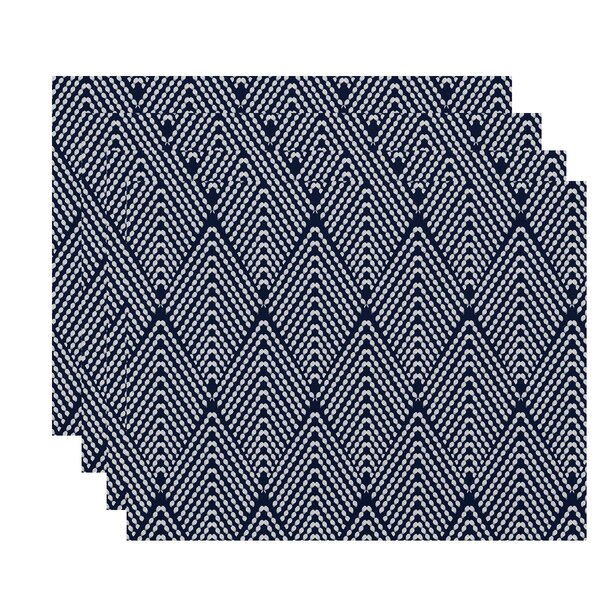 Waller Lifeflor Geometric Placemat (Set of 4) by Ivy Bronx