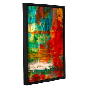 'The Abstract Forest' by Byron May Framed Painting Print on Wrapped Canvas by ArtWall