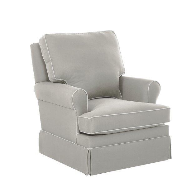 Gwinnett Swivel Glider with Contrasting Welt by Wayfair Custom Upholstery™