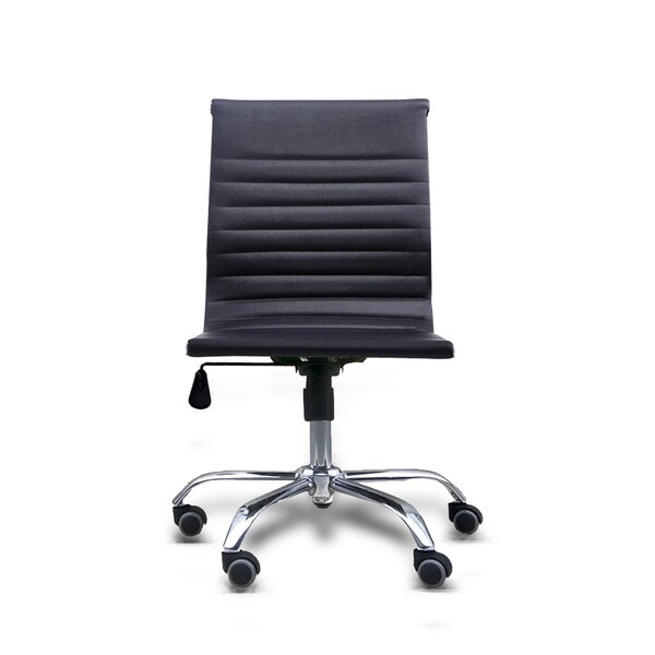 Terhune Mid Back Armless Office Chair by Ebern Designs