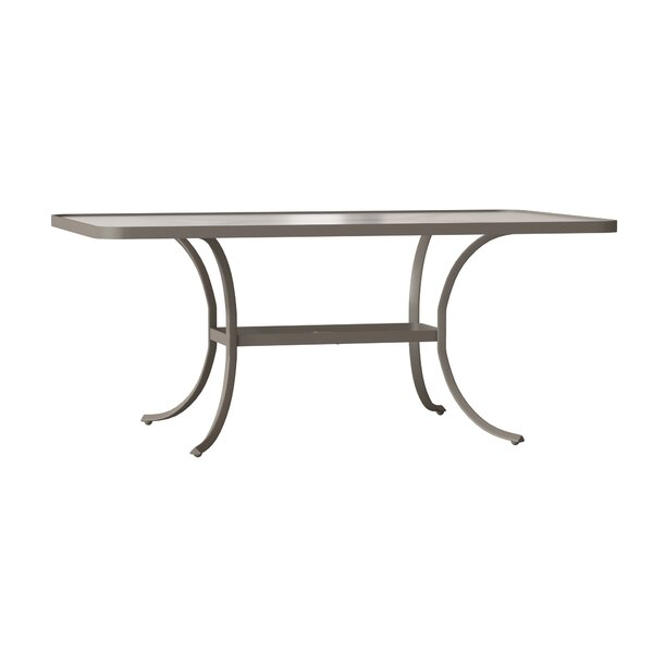 Valora Plastic/ Resin Dining Table by Tropitone