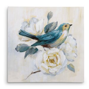 'Morning Song I' Painting Print on Wrapped Canvas by Lark Manor