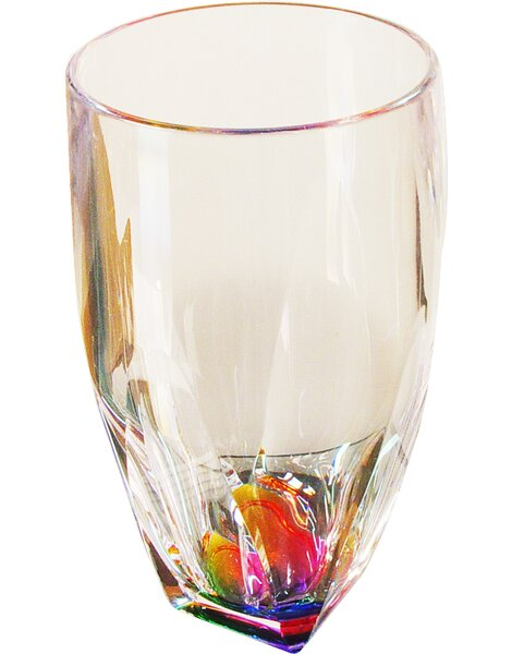 Fabia 17 oz. Plastic Every Day Glass (Set of 4) by Mint Pantry