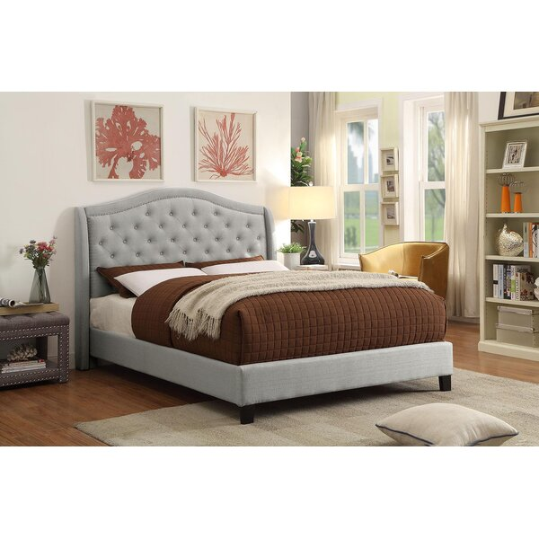 Mcdougal Upholstered Standard Bed by House of Hampton